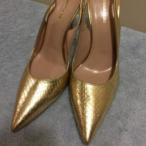 Dsquared2 gold heels size 40